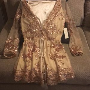 In the Beginning Other - NWT Beauty Romper